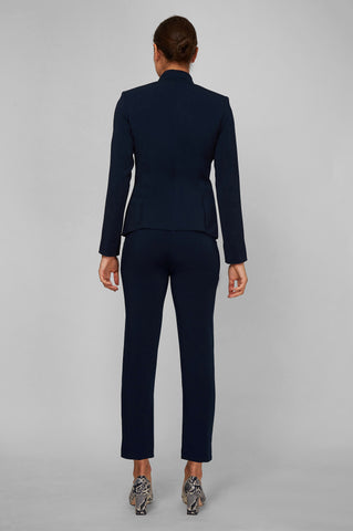 Women's Alanna Blazer in Navy | Nora Gardner - Back
