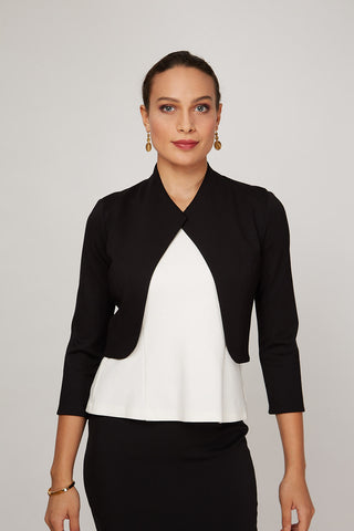 Women's Mila Jacket in Black | Nora Gardner Front