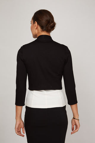 Women's Mila Jacket in Black | Nora Gardner Back