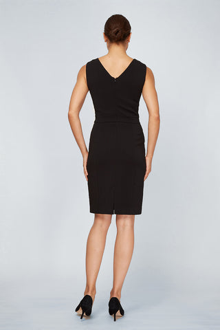 Women's Alyssa Dress in Black | Nora Gardner - Back