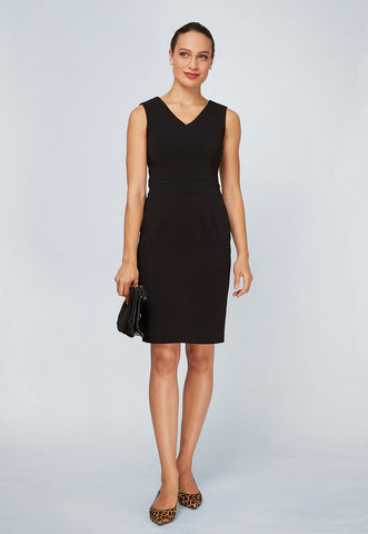Women's Alyssa Dress in Black | Nora Gardner Front