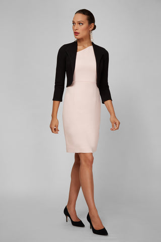 Women's Clea Dress in Ballerina Pink | Nora Gardner - Side