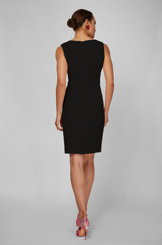 Women's Clea Dress in Black | Nora Gardner - Back