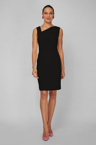 Women's Clea Dress in Black | Nora Gardner - Front
