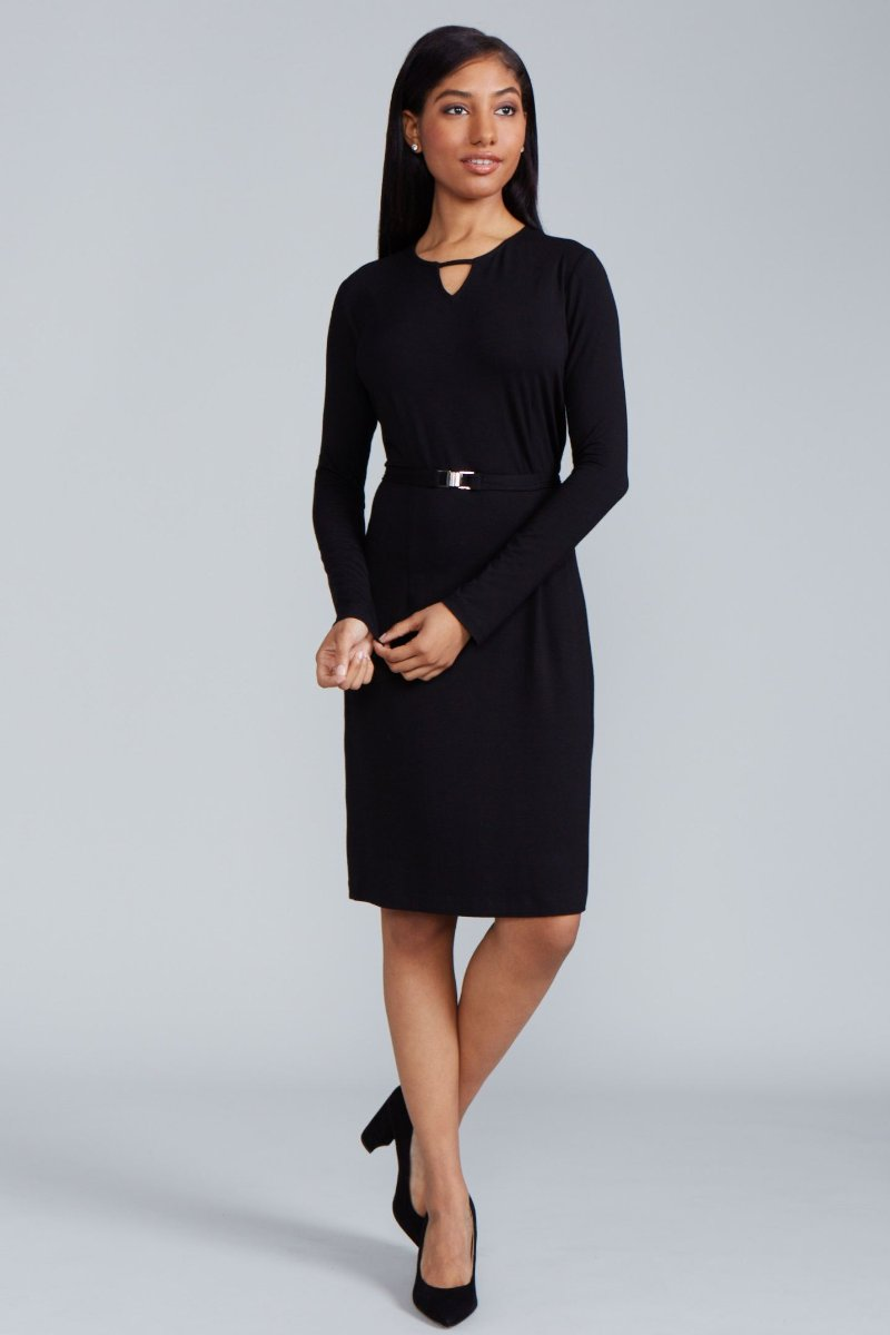 Zahara Dress - Black Jersey