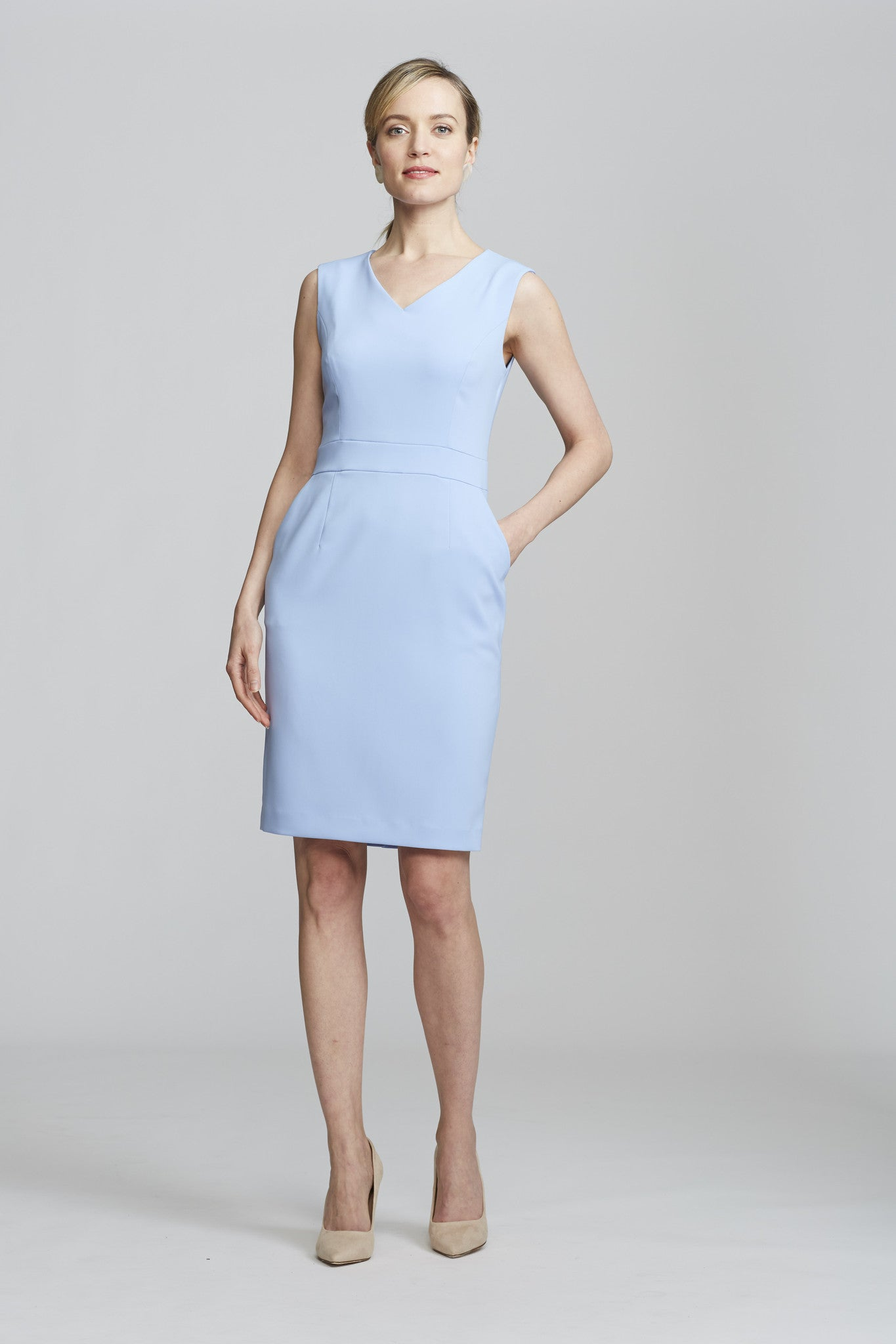 Alyssa Dress - Periwinkle