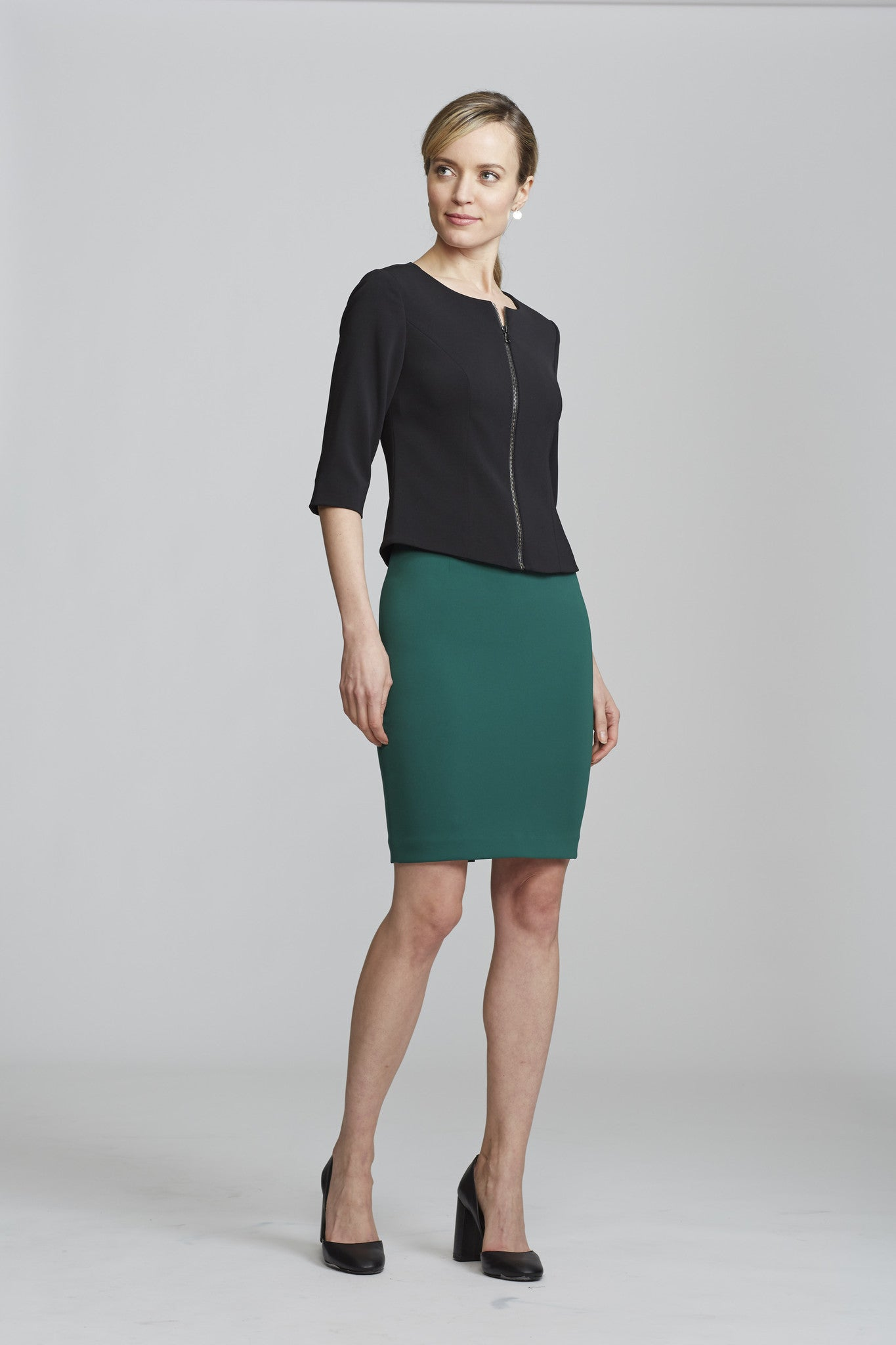 Chelsea Skirt - Hunter Green