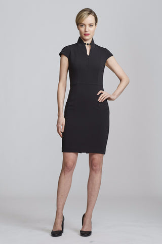 Women's Evelyn Dress in Black