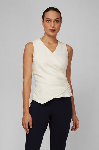 Women's Naomi Top in Ivory | Nora Gardner