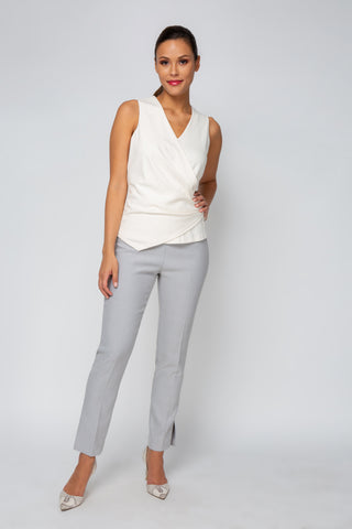 Women's Naomi Top in Ivory | Nora Gardner Front