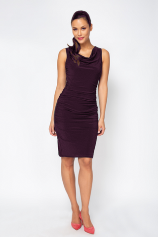 Dolce Dress - Aubergine