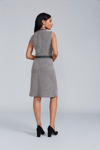 Mackenzie Dress - Herringbone