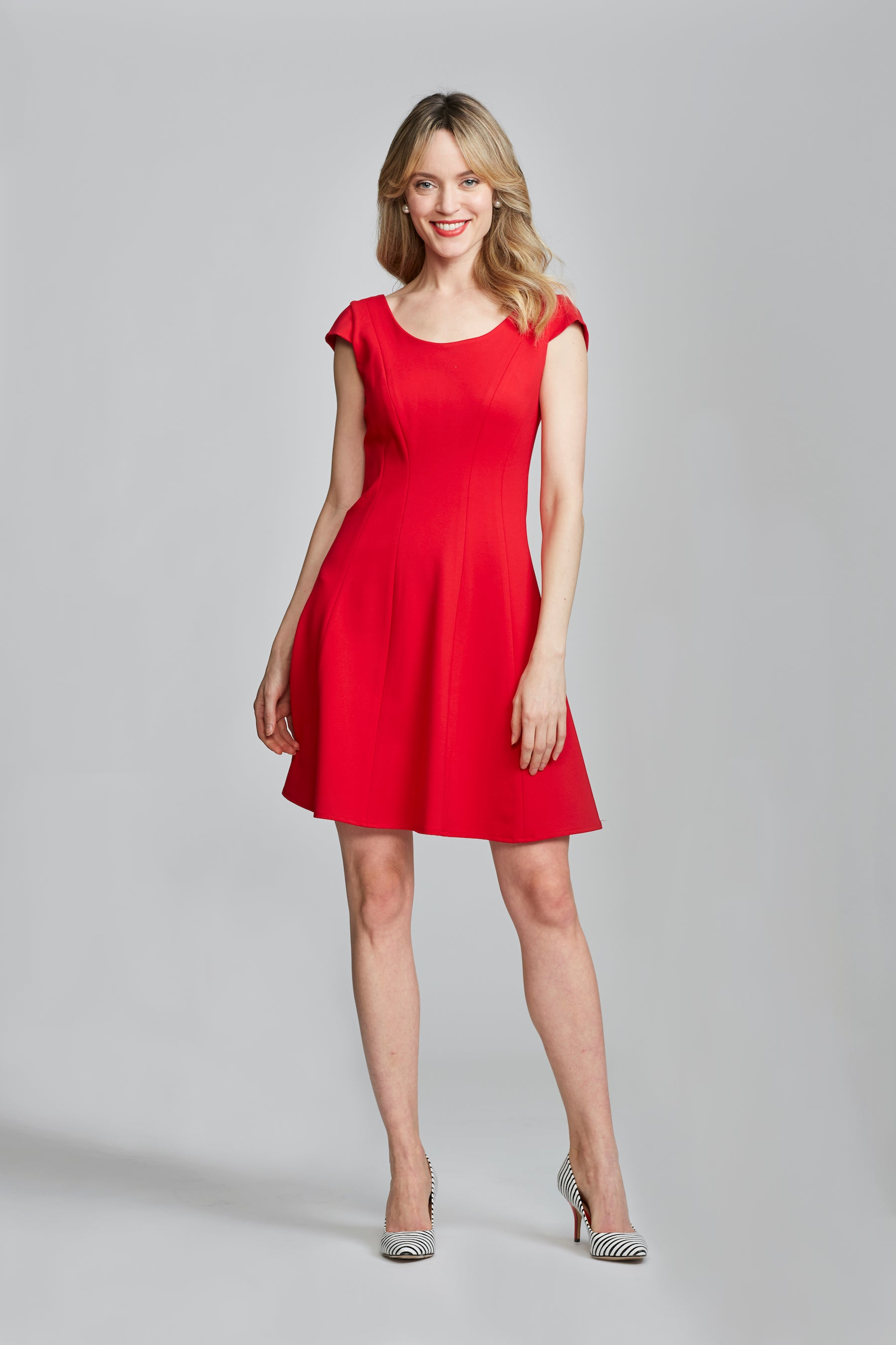 Koko Dress - Bright Red
