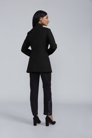 Women's Palermo Jacket in Black | Nora Gardner Back