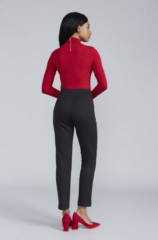 Women's Rosemary Turtleneck in Bittersweet Red | Nora Gardner