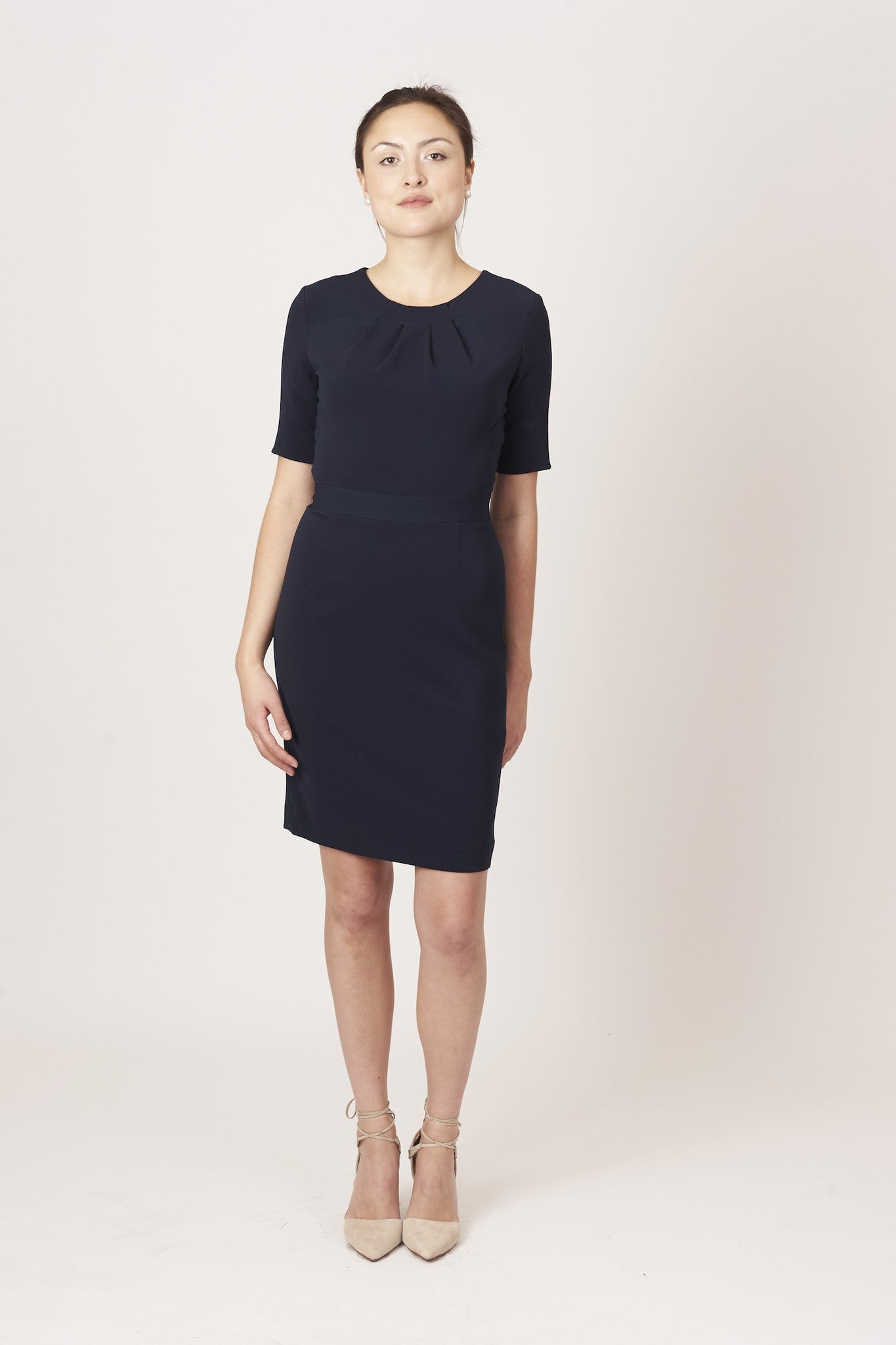Georgina Dress - Navy