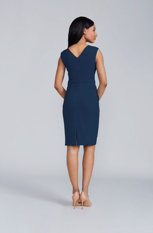 Alyssa Dress - Navy