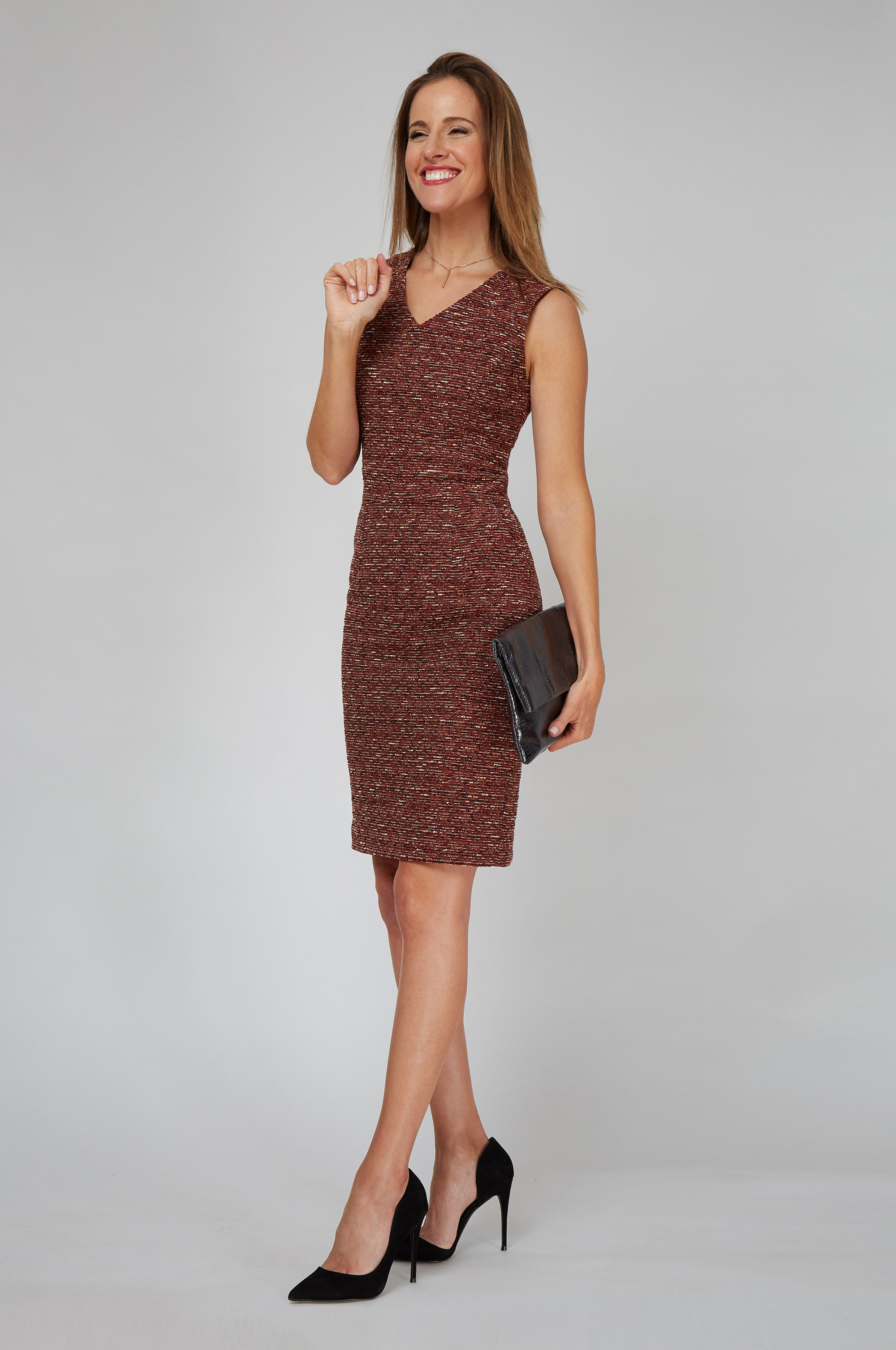 Alyssa Dress - Roma Boucle