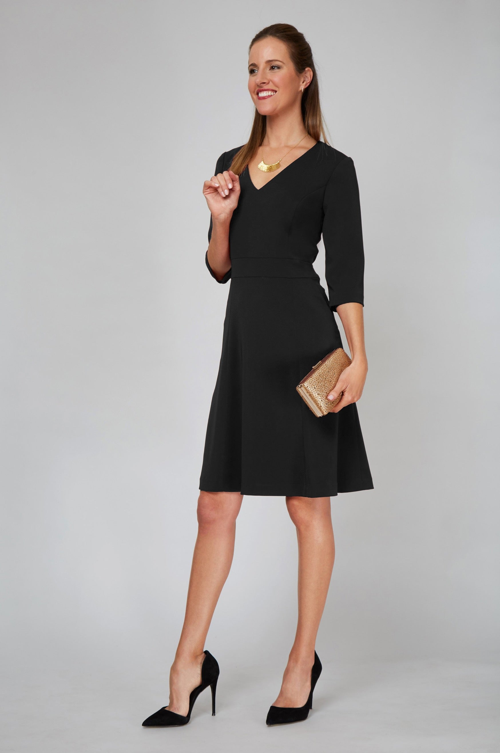Alexandra Dress - Black