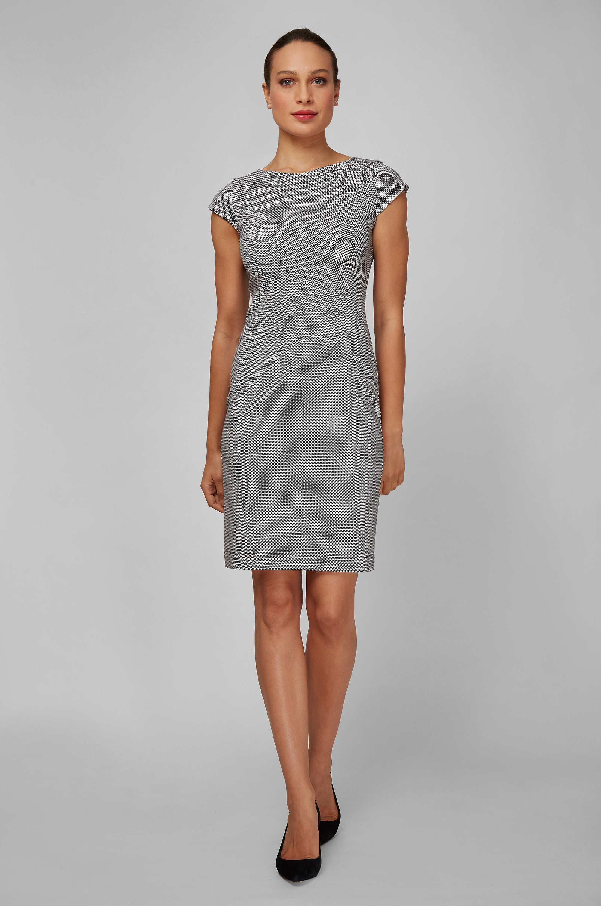 Women's Verana Dress in Diamond Print | Nora Gardner