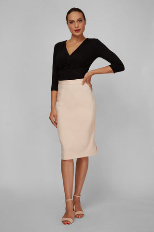 Women's Rita Skirt in Oat | Nora Gardner