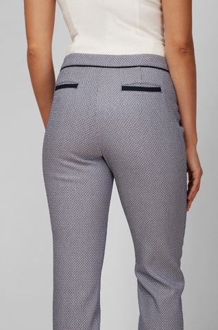 Women's Justine Pants in Basketweave | Nora Gardner Product Pocket
