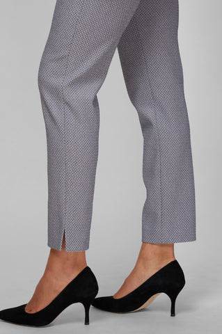 Justine Pants - Basketweave Jacquard
