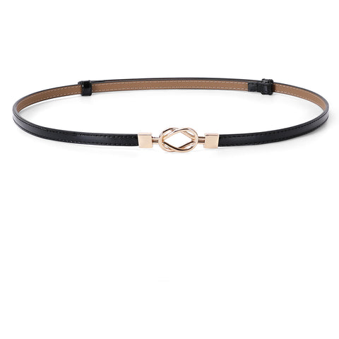 Infinity Smart Belt - Black Leather