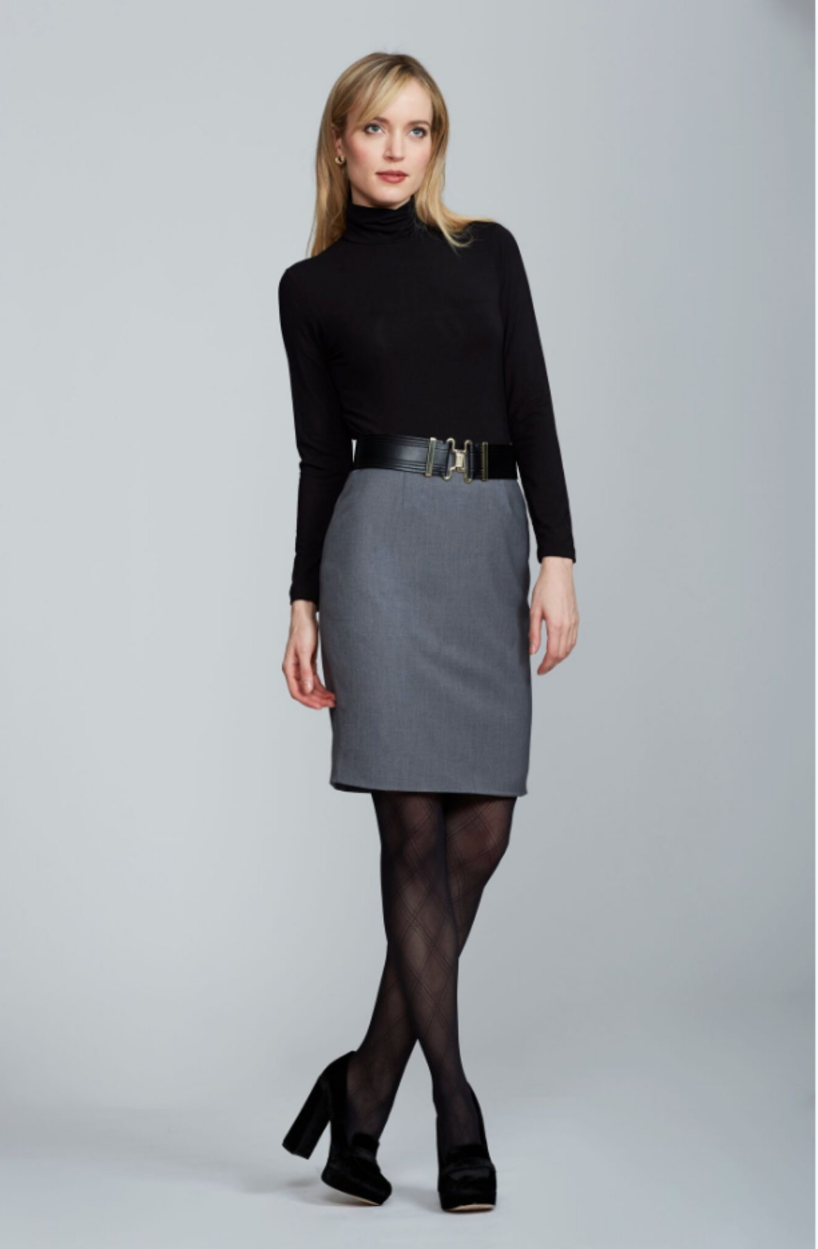 Chelsea Skirt - Light Charcoal