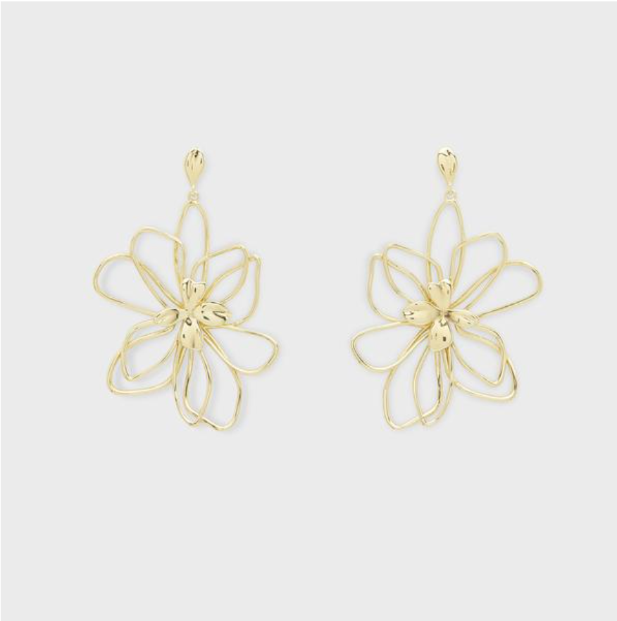 Aven Earrings - Gold 203-011