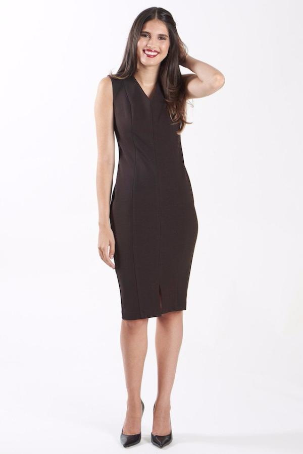 Diana Dress - Dark Sepia