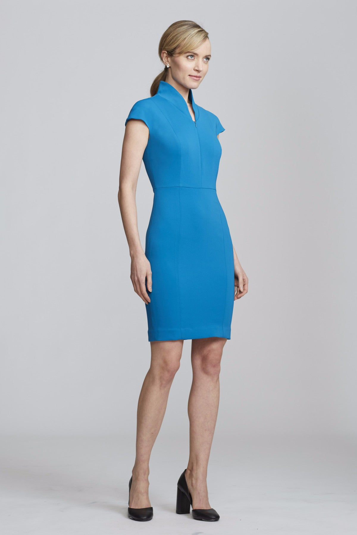 Women's Evelyn Dress in Peacock | Nora Gardner