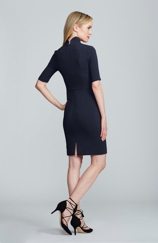 Nora Gardner Sleeved Evelyn BlackWomen's Sleeved Evelyn Dress in Black | Nora Gardner Back