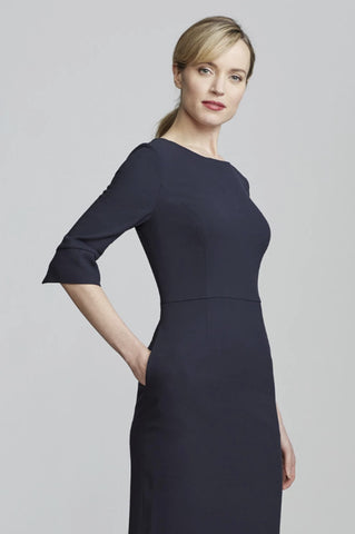 Women's Gabrielle Dress in Navy | Nora Gardner Pocket