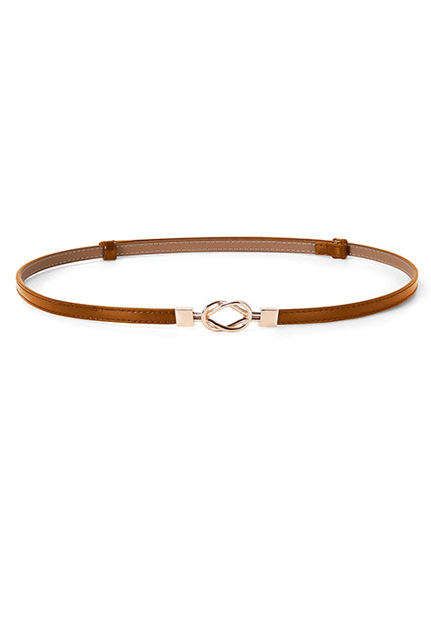 Women's Infinity Smart Belt in Brown Leather | Nora Gardner