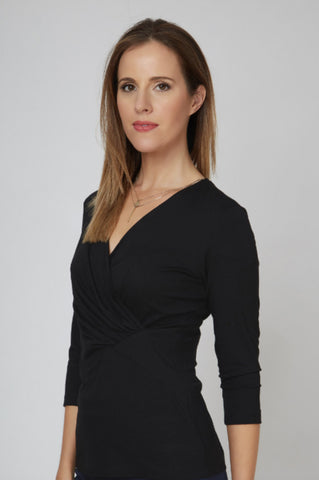 Leyla Top - Black