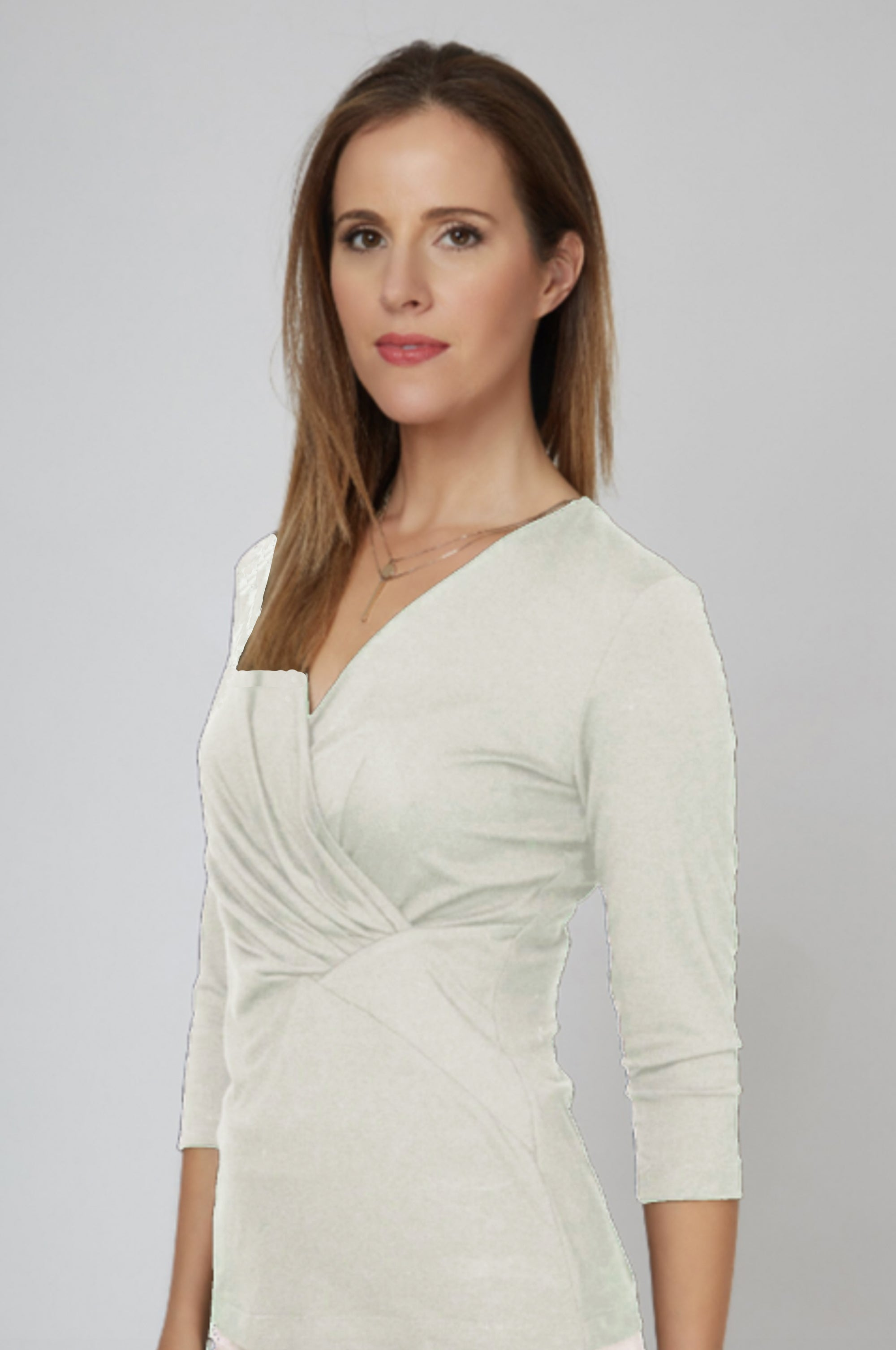 Leyla Top - Cream