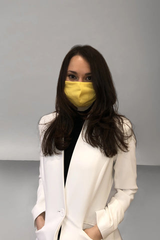 Face Mask - Canary Yellow