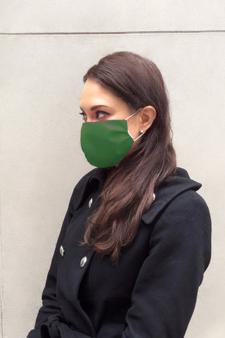 Face Mask - Forest Green