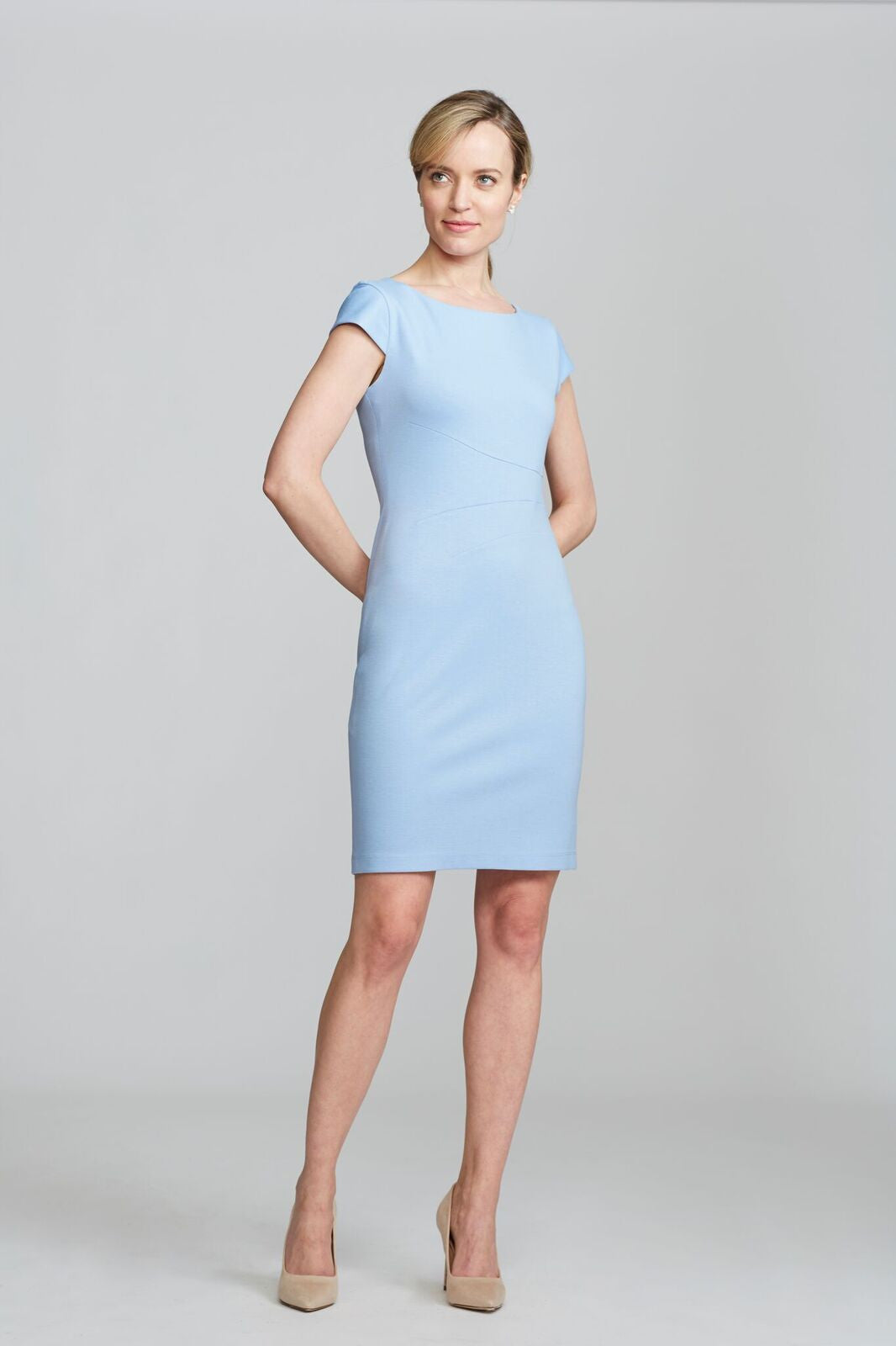 Verana Dress - Baby Blue