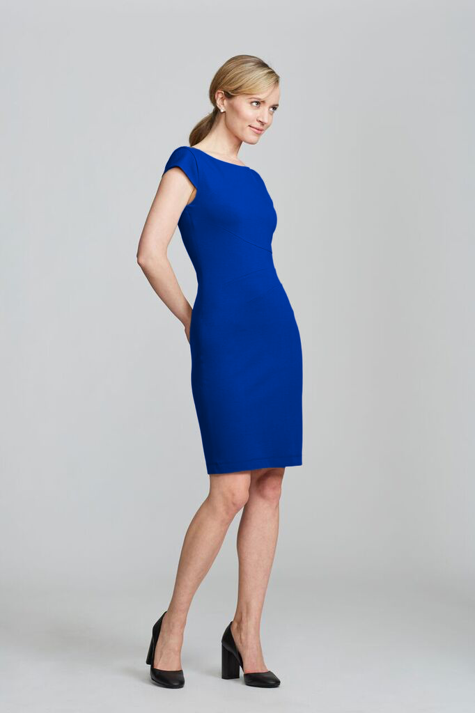 Verana Dress - Royal Blue