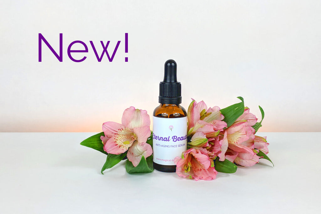NEW! Eternal Beauty anti-aging face serum