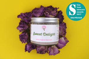 Sweet Delight body scrub shortlisted!