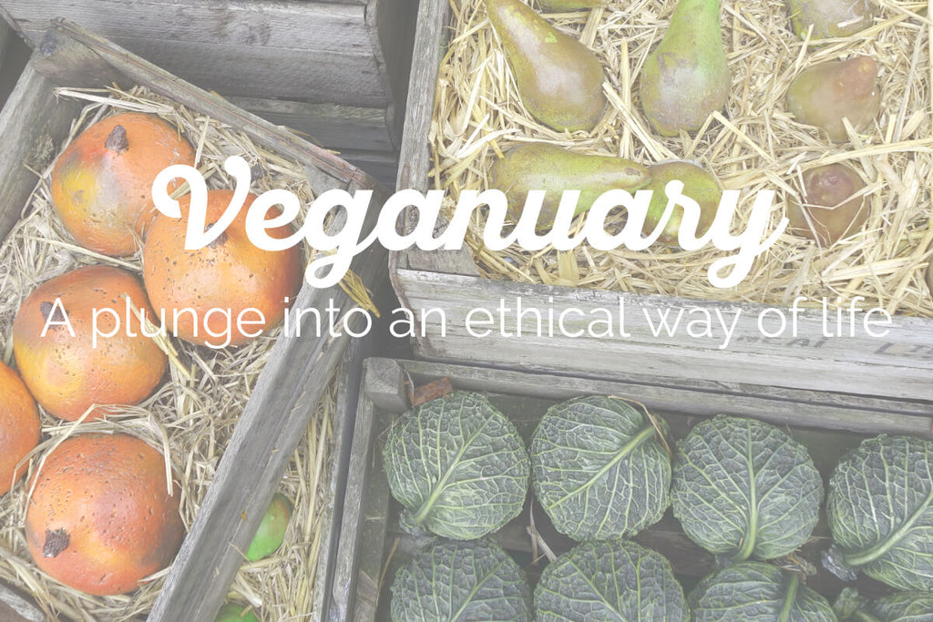 Veganuary - a plunge into an ethical way of life
