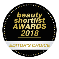 Editor's Choice at Beauty Shortlist Awards 2018
