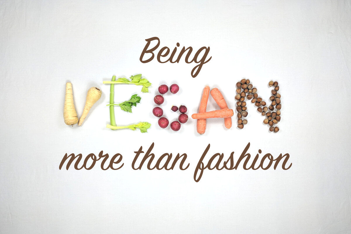 Being vegan - more than fashion