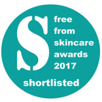 Free From Skincare Awards 2017 shortlisted