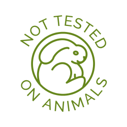 Product strictly not tested on animals