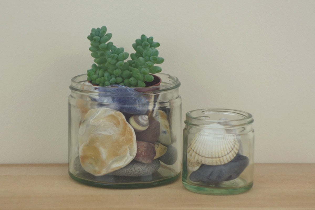 Create a seaside in a jar