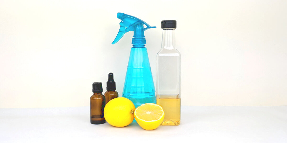 Use homemade cleaning products